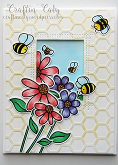 BeeYouTiFul, Busy Bees, Honey Bee Stamps