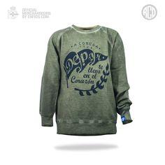 Urban Felpa Flag Kid RCD Graphic Sweatshirt, Sweatshirts, Collection, Fashion, Sports, Moda, Fashion Styles, Trainers, Sweatshirt