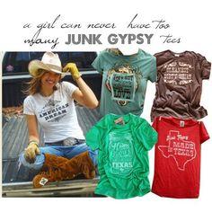 Favorite Junk Gypsy tees