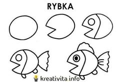 navody ucime deti kreslit 16 Symbols, Letters, Drawings, Fur, Nails, Finger Nails, Ongles, Letter, Sketches