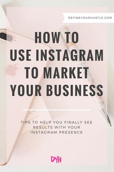 Are you just posting pretty pictures on Instagram? If so, you don't have a strategy! Learn how to use Instagram to market your business with these tips!