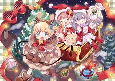 Cute Anime Chibi, Kawaii Chibi, Easy Animal Drawings, Cute Drawings, Manga Anime, Anime Art, Anime Friendship, Easy Animals, Anime Princess
