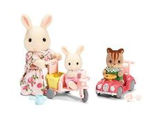 Calico Critters Apple & Jake's Ride 'n Play Calico Critters