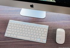 Apple iMac with keyboard & mouse