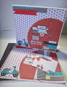 Reciclando caja de Project Life para mis Die Cuts