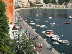 ღღ Villefranche sur Mer Harbor - French Riviera by New York Habitat, via Flickr