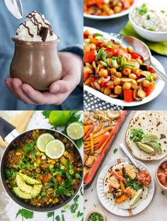 If you're looking for vegan protein sources this is the right post for you! It includes the most important facts about plant-based protein as well as 45 delicious and easy vegan protein recipes!
