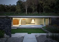 Act_Romegialli completes underground swimming pool