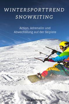 Wer gerne in Skigebieten unterwegs ist, und es kaum abwarten kann, sich wieder auf die Skier oder aufs Snowboard zu schwingen, für den habe ich jetzt ein wenig Abwechslung auf Lager – den absoluten Trendsport Snowkiting! Was es damit auf sich hat und wie auch ihr zu Snowkitern werden könnt, erfahrt ihr jetzt.  #winter #winterurlaub #snowkiting #trend #action #aktivurlaub