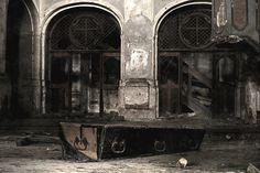 Abandoned church in Goszcz, Poland. Opuszczony kościół ewangelicki w Goszczu, Polska