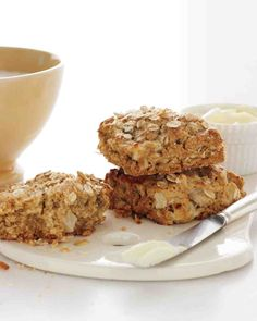 Apple and Oat Scones with Cinnamon and Nutmeg Recipe