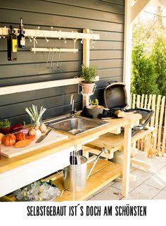Die 18 besten Bilder von Außenküche selber bauen in 2019 | Garten ...