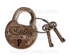 Hey, I found this really awesome Etsy listing at https://www.etsy.com/listing/152556140/rusty-metal-vintage-lock-with-keys