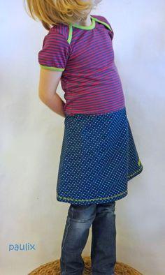 """Kleid """"Ophelia"""" von mialuna mit Rockteil aus Webware"""