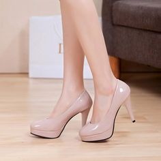 Round Toe Heels (More Colors Available)