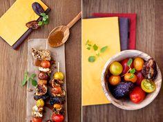 Hähnchenspieße vom Grill mit Tomaten und Dattelsauce » Cucina Piccina