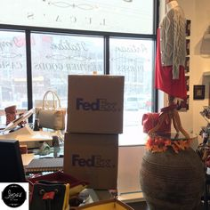 Thank you FedEx for making us unstoppable even during a snow day like today! #FedEx #unstoppable #Service #give