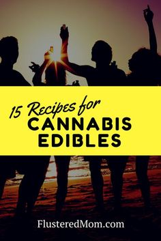 Want to make marijuana edibles at home? 15 ways  Here are fifteen different delicious ways you can eat cannabis.  If you can't tolerate the taste of pure cannabis oil, then edibles are ideal.  These 15 recipes make potent weed edibles. #marijuana #cannabis #weed