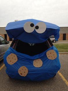 Trunk N Treat. Cookie Monster