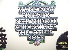 Team MadCap Charity Friendship Iron trivet by TreasuredCharm, $10.25 #madcapcharity #madcap