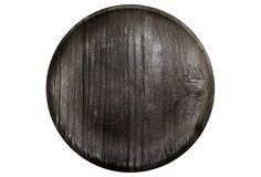 S/12 Twig Melamine Dinner Plates, Black