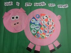 Farm Animal Pie Graph