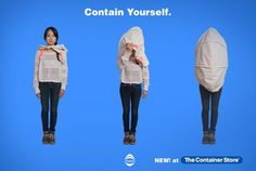 Hide From The World In This #Wearable #Privacy Pod.  Ha! #eClothing