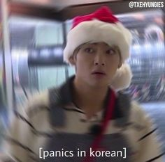 I think I do everything in korean bc this is a mood