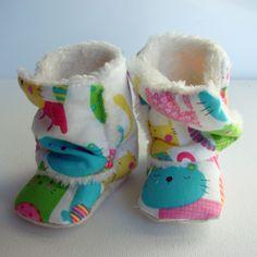 Newborn warm boots