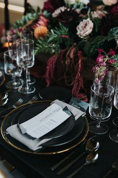Edgy Wedding, Romantic Wedding Decor, Jewel Tone Wedding, Fall Wedding, Wedding Reception, Dream Wedding, Black Wedding Decor, Victorian Wedding Decor, Black Weddings