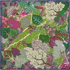 Scarf 90 Hermès | Un Jardin Anglais