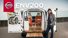 Nissan e-NV200 WORKSPACe: first all-electric mobile office