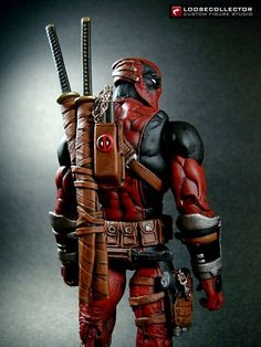 Deadpool : Olvetti / Giusti Style (Marvel Legends) Custom Action Figure by loosecollector