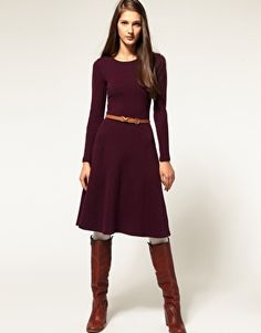 Wow, a nice, simple long-sleeve! Pretty color too, though others would too.