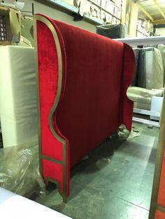Mozart headboard special design for beatiful new hotel The Paragon, Puglia Fine Furniture, Custom Made, Design