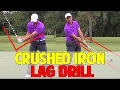 Golf Lag Drill To Crush Irons - YouTube