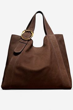 Dark chocolate leather Gucci bag