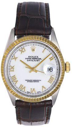 Rolex Datejust 2-Tone Men's Watch 16013