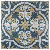 "Found+it+at+Wayfair+-+Royalty+Canarsie+17.75""+x+17.75""+Ceramic+Glazed+Tile+in+Multicolor"