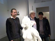 Gualtiero Vanelli, Vittorio Sgarbi e Giuseppe Veneziano