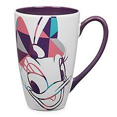 Disney Daisy Duck Shapes Mug   Disney StoreDaisy Duck Shapes Mug - Drink up Daisy's playful spirit as her face lights up our glamorous hot beverage mug, featuring geometric screen art and contrast purple interior.