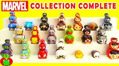 Marvel Tsum Tsum Collection Complete with Limited Edition