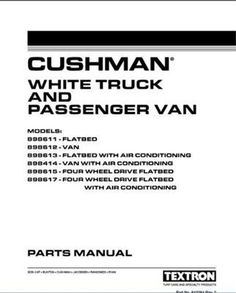Golf Carts Ideas | EZGO 842284 19962006 Cushman Parts Manual >>> Check out this great product.(It is Amazon affiliate link) #lol