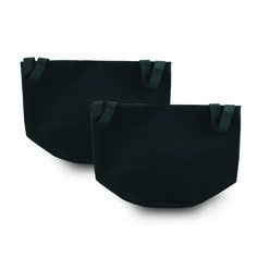 FABRIC GROW POT 3Q 3 Gallon Container Gro Sack Breathable Pot Planter Fabric Bag