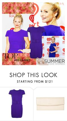 """Candice Accola~iHeartRadio Music Festival 2013"" by fashion10496 ❤ liked on Polyvore featuring Alexander McQueen, BREE and Valentino"