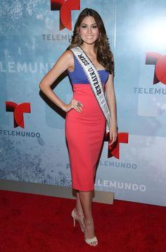 Gabriela Isler at 2014 Telemundo Upfront...