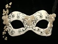 Mask.... a masquerade wedding. so cool.