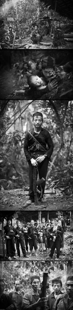 Hmong CIA Veterans of the Secret War story by KC ORTIZ ~ these people are still, I mean in 2013, fighting the Lao and Vietnamese. They have been persicuted because they are ethnically different and because they helped the CIA, during the Vietnam war. - click the pin to see the full story.