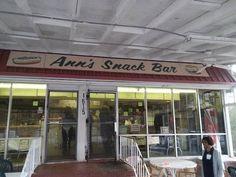 Ann's Snack Bar - Atlanta, Georgia