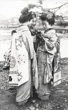 Geishas Maiko Girls